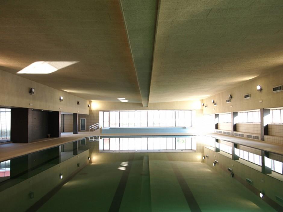 Cubrici n y climatizaci n de la piscina municipal nueva - Piscinas cubiertas sevilla ...