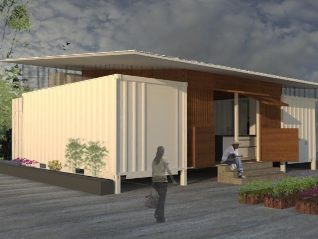 Viviendas prefabricadas con contenedores rep blica - Construcciones casas prefabricadas ...