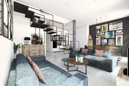 Interiorismo herrero arquitectos for Oficina pelayo sevilla